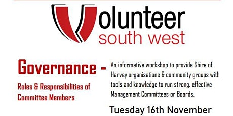 Governance - Roles & Responsibilities of Committee Members tickets