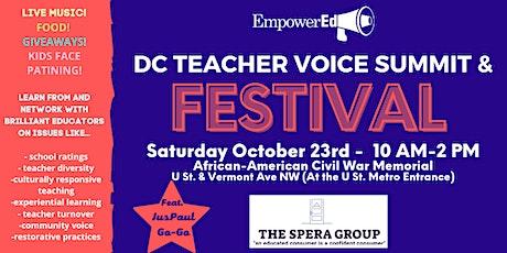 2021 DC Teacher Voice Festival tickets