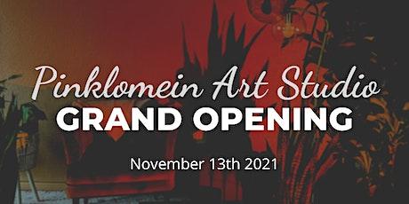 Pinklomein Studio Grand Opening tickets