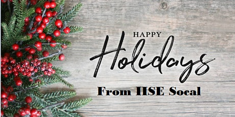 IISE Annual Holiday Event - 2021 tickets