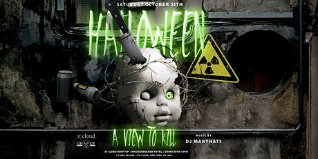 Halloween View To Kill @ St Cloud Rooftop NYC - Saturday 10/30 tickets