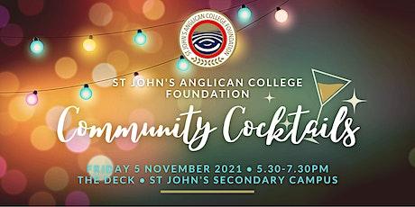 St John's Foundation Community Cocktails tickets