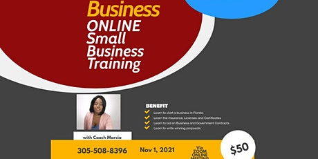 Start and Manage your business in Florida tickets