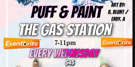 YallStreet Wednesdays Puff&Paint at The Gas Station tickets