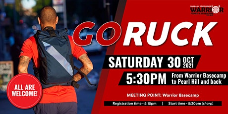 Go Ruck Warrior Fitness - Base Camp to Pearl Hill tickets
