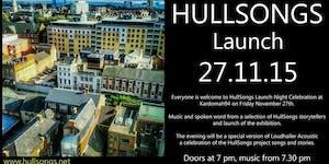 HullSongs Launch Night