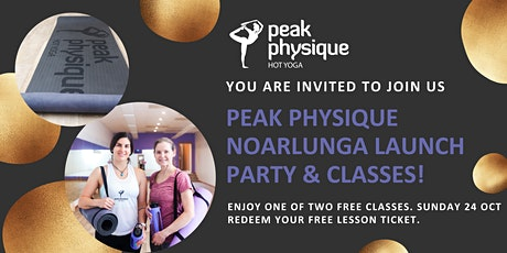 Peak Physique Noarlunga LAUNCH PARTY tickets