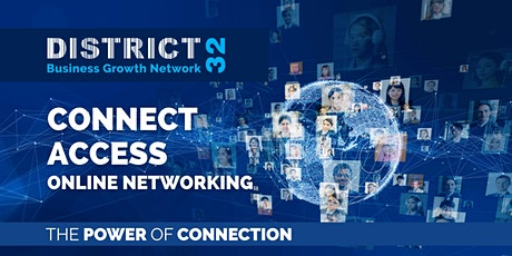 District32 Connect Access Business Growth - Online Event - Fri 19 Nov tickets