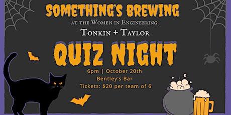 Tonkin + Taylor WIE Quiz Night tickets