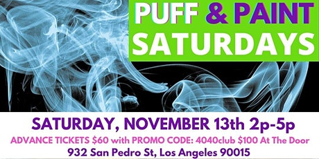 Puff and Paint Saturdays with Juicy Queen Coco @ Moby Arts tickets