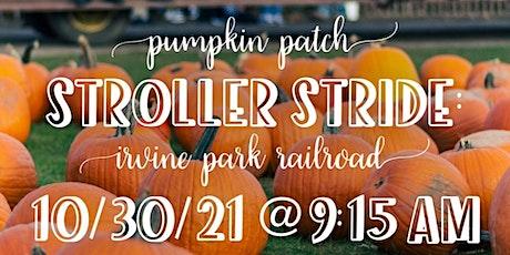 Pumpkin Patch Stroller Stride tickets