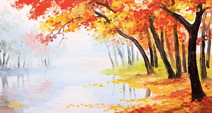 Autumn trees- drawing and watercolor painting  workshop tickets