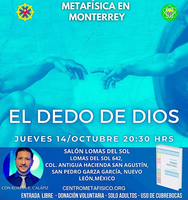 Imagen de EL DEDO DE DIOS: Metafísica en Monterrey