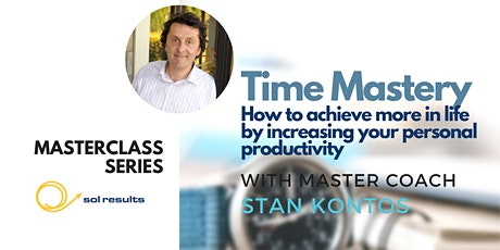 Masterclass Series | Time Mastery tickets