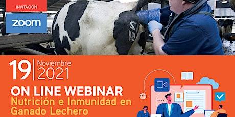 VI Jornadas Lecheras  2021:  Nutrición e Inmunidad  en Ganado Lechero entradas