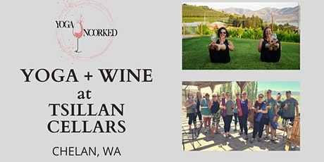 Yoga + Wine at Tsillan Cellars tickets