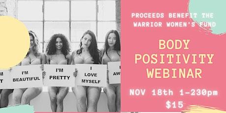 Body Positivity Webinar tickets