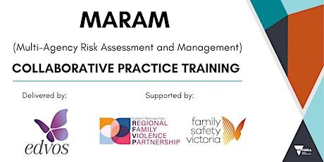 MARAM Collaborative Practice Training: 16th -17th Nov 9:30am -12:30pm tickets