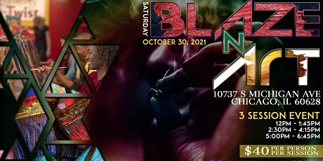 Blaze N' Art Halloween Puff N. Paint Presented By FTC Labs tickets
