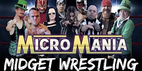 MicroMania Midget Wrestling: Sandwich, IL at Lee'z  Place tickets