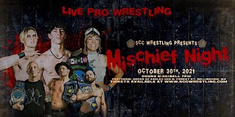 5CC Wrestling: Mischief Night tickets