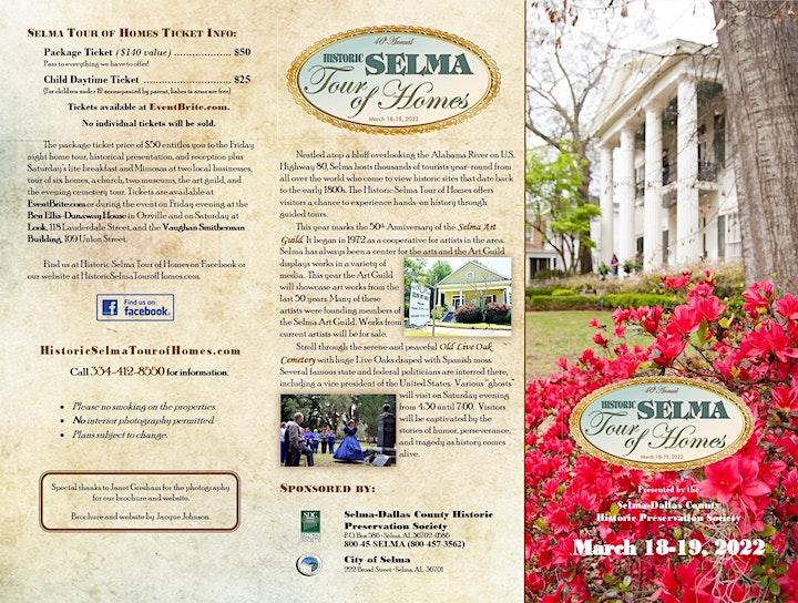 Historic Selma Tour of Homes 2022 image