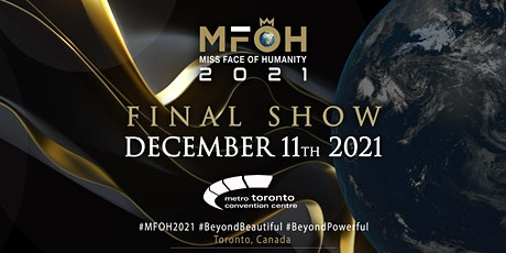 Miss Face of Humanity 2021 Final Show tickets