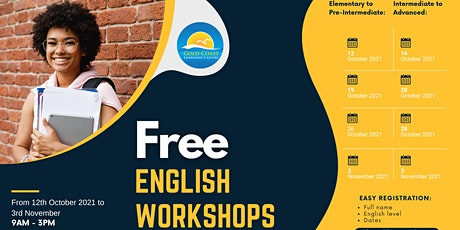FREE English Workshops tickets