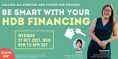 Be Smart with Your HDB Financing! tickets