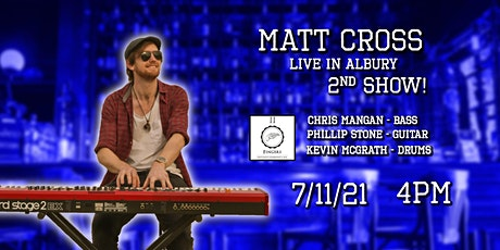 Matt Cross With Band // Second Show // Two Fingers Albury tickets