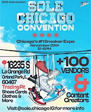 SOLE CHICAGO CONVENTION tickets