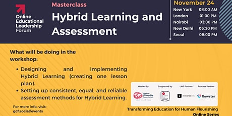 Masterclass on Hybrid Learning and Assessment tickets
