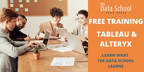 Free Tableau/ Alteryx Training: Learn what the Data School learns tickets