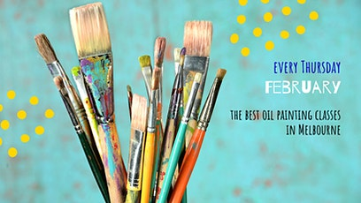 A MONTH OF OIL PAINTING CLASSES - for adults tickets
