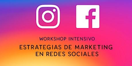 Estrategias de Marketing en Redes Sociales boletos