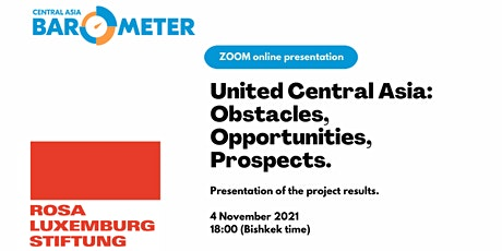 Online-presentation: United Central Asia project results. tickets
