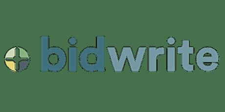 Bid Essentials Online Workshop - 3rd and 4th November 2021 tickets