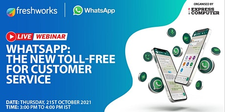 WhatsApp: The New Toll-Free for Customer Service entradas