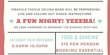 Barn Dance. Fundraising event for Aldenham War Memorial Hall. tickets