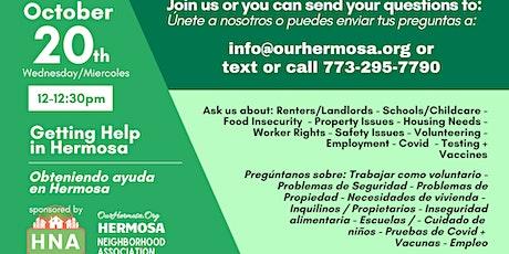 October 20th - Meet Your Hermosa Neighbors/Vecinos tickets