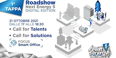 Roadshow Digitale di Next Energy 5 | 1* Tappa biglietti