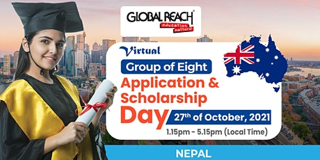 Virtual Group of Eight Application and Scholarship Day tickets