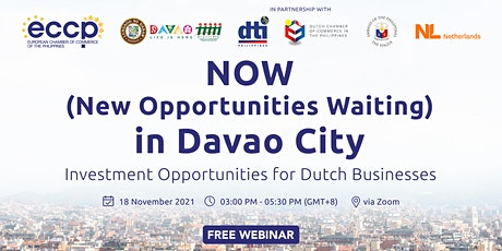 Webinar: NOW (New Opportunities Waiting) in Davao City tickets
