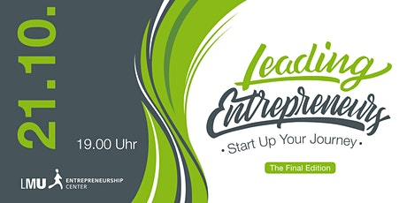 The Final LEADING ENTREPRENEURS Tickets
