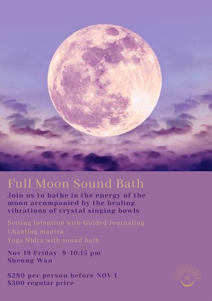 Full Moon Sound Bath image