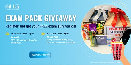 [AUG Perth] Free Exampack and Bubble Tea  Giveaway- UWA & Vic Park tickets