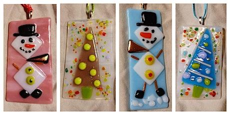 Snowman or Christmas Tree Ornament Workshop - Garden City tickets