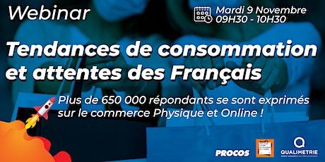 Tendances de consommation et attentes  des Français billets