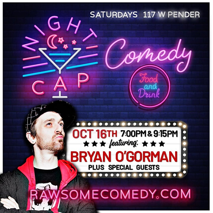 Nightcap Comedy | Live Stand up Comedy image