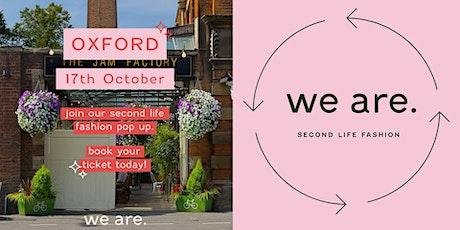 we are. Vintage Kilo Pop-Up - Oxford tickets
